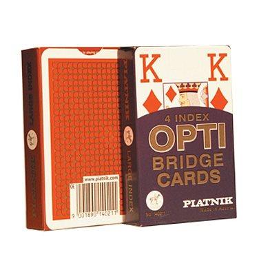 קלפים ספרות גדולות - אופטי ברידג'