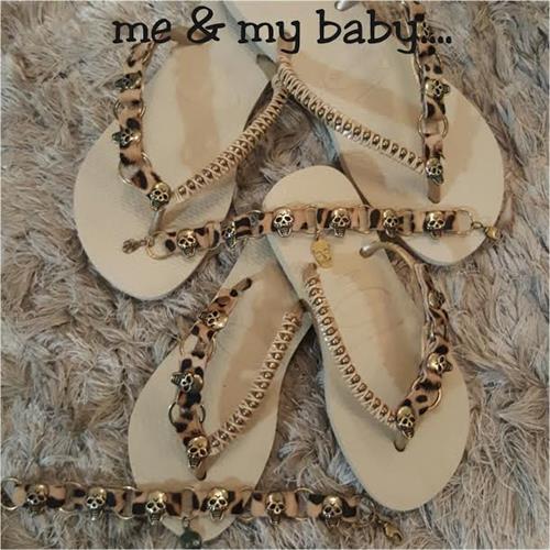 BABY SKULL - GOLD
