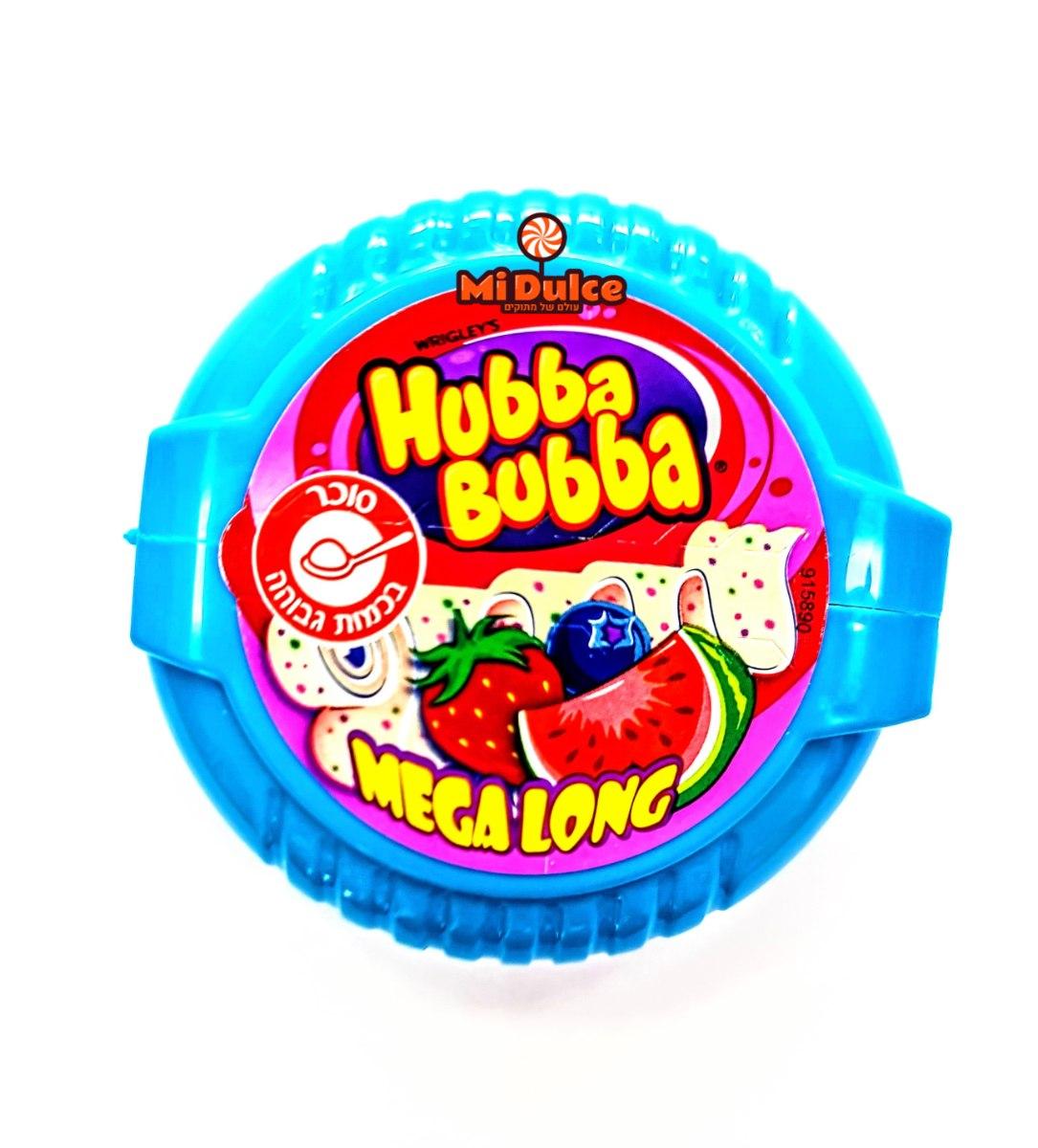 Hubba Bubba Mega Long Fruits