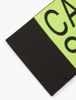 CK צעיף ניאון לוגו שחור