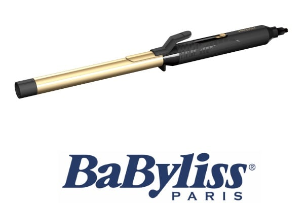 BaByliss מסלסל שיער קרמי מוזהב דגם C419E