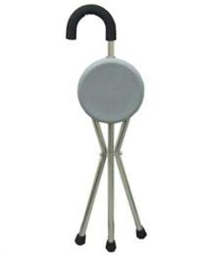 מקל כסא - מקל הליכה - מושב עגול