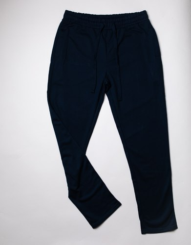 מכנסי פרנצ' טרי חלקים צבע שחור  גברים