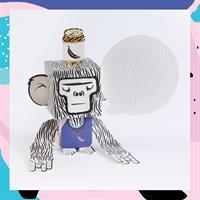 Greet n' pop - כרטיס ברכה 3D מעוצב