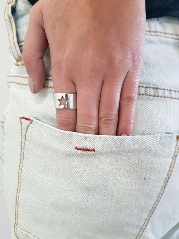 טבעת כוכב חלול