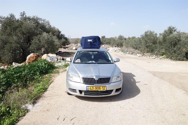 """תיגג - תיק לגג לרכב - 580 ליטר  """"כל הבגאג' על הגג"""""""