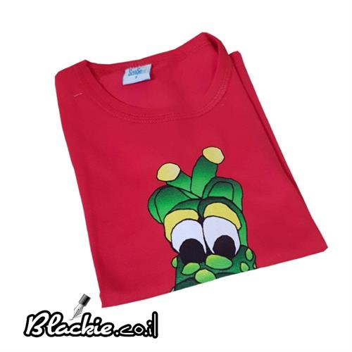"Children colored - T shirt ""Dinosaur"" Deal single"