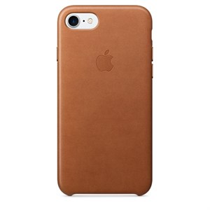 iPhone 7 Leather Case - Saddle Brown