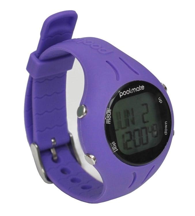 שעון שחייה פולמייט 2 סגול - Poolmate 2 Purple