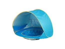 אוהל חוף לילדים משולב ארגז חול / בריכה