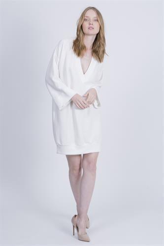 שמלת סטייסי לבנה