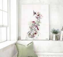 פרח מינימליסטי