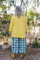 חולצה מדגם קשת בצבע צהוב