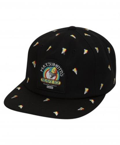 Hurley M Matsumoto Shave Ice Cone Hat- Black
