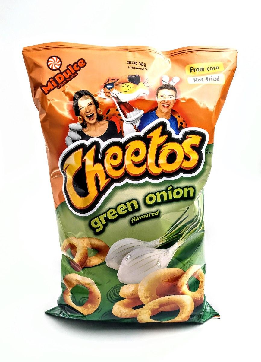 Cheetos טבעות בצל,מארז מוגדל