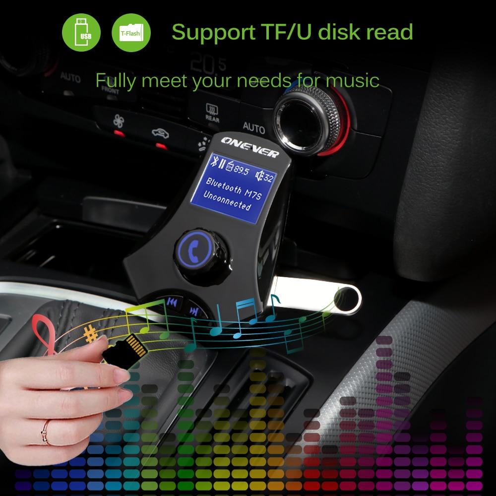 משדר fm לרכב עם נגן מוזיקה