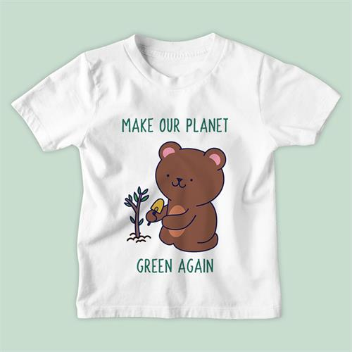 חולצת ילדים Make Our Planet Green Again