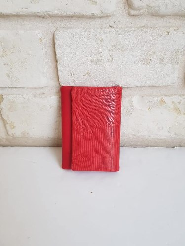 ארנק דמוי עור קטן אדום1 4033