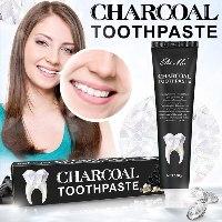 משחת פחם להלבנת השיניים