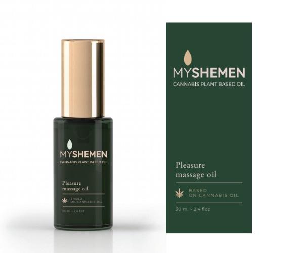 Shemen Amor|My Shemen Pleasure | שמן פלז'ר | שמן זרעי קנאביס לאהבה