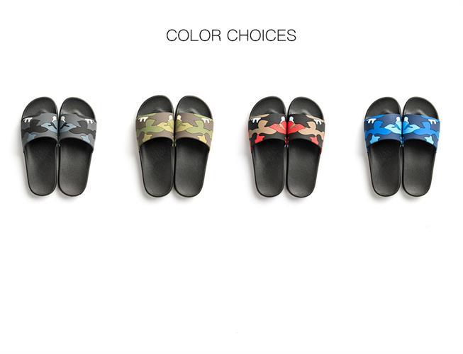 ASIFN נעלי בית- כפכפים לשימוש יומיומי  בארבעה צבעי הסוואה