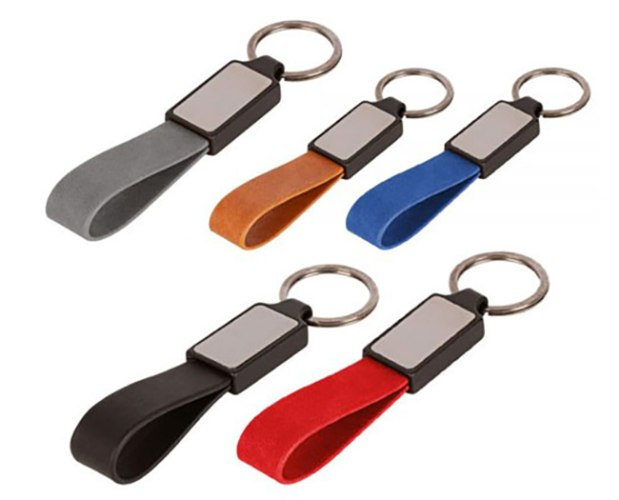 מחזיק מפתחות דמוי עור 4