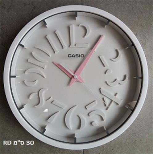 שעון קיר CASIO IQ-64-ורוד