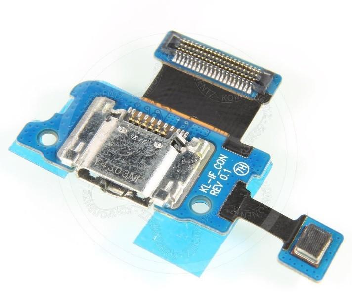 החלפת שקע טעינה לטאבלט סמסונג Samsung Galaxy Tab S 8.4 SM-T705 SM-T707 Micro USB Charging Port Flex Board
