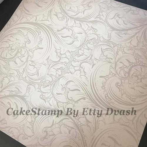 5 יחידות תחרה עדינה - טפט חזק ואיכותי לעיטוף משטח עוגה.