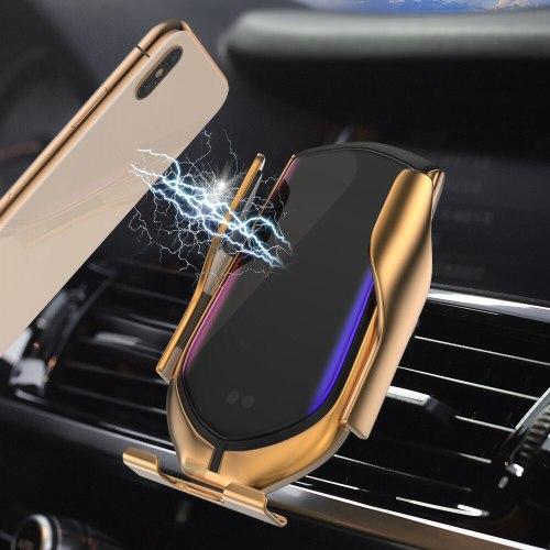 תושבת טלפון יוקרתי לרכב כולל טעינה אלחוטית לכל סוגי המכשירים