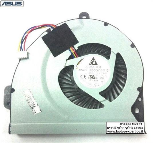 מאוורר להחלפה במחשב נייד אסוס ASUS X54C K54C SERIES CPU COOLING JA0901 13GN7B1AM010FAN 13N0-L