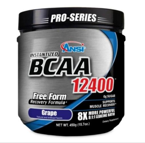 חומצות אמינו BCAA ANSI 12400 (450 גרם)