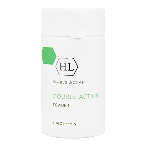 אבקה טיפולית במצבי אקנה דאבל אקשן - Holy Land Double Action Treatment Powder