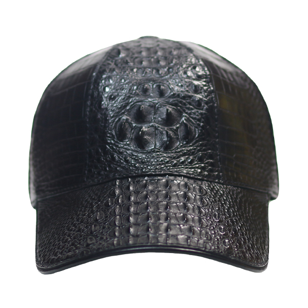 CROCODILE  ROUND BASEBALL BLACK