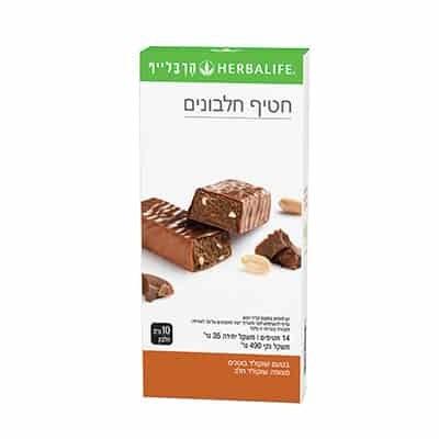 חטיפי חלבון בטעם שוקולד בוטנים