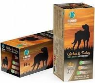"""האונד תזונה טבעית לכלב 14 ק""""ג"""