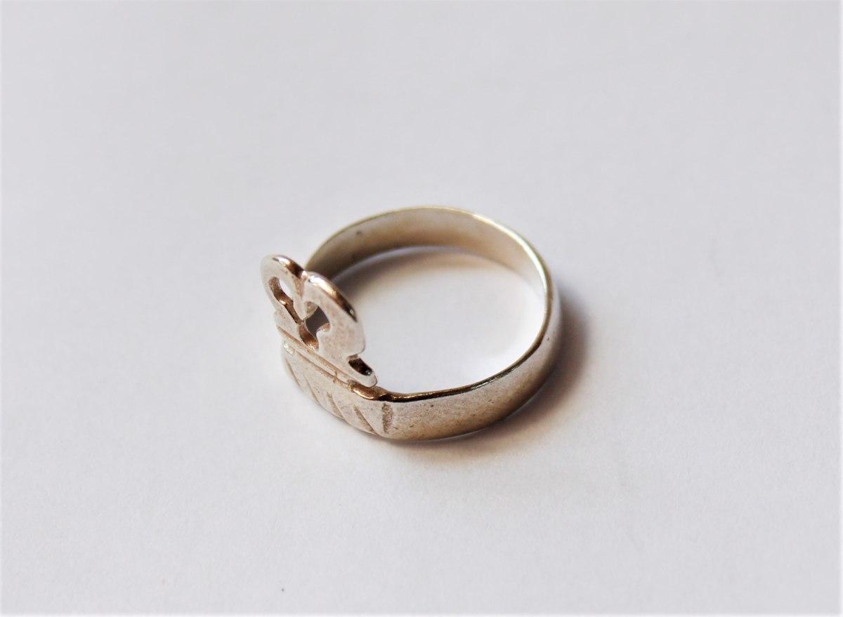 טבעת חותם עתיקה מהתקופה הרומית ביזנטית R114