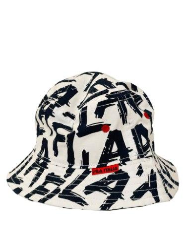 כובע טמבל FILA כחול מודפס