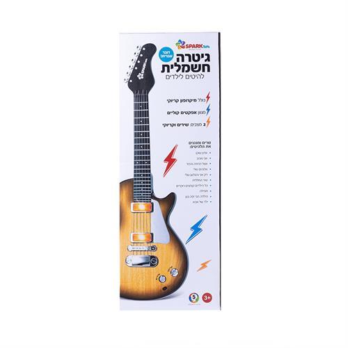 """""""גיטרה חשמלית להיטים לילדים"""""""