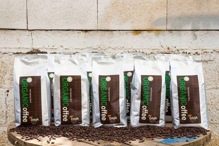 קפה דאדא תערובת קפה אורגני - DAdA Caffe Organic Whole Bean