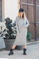 חליפת חצאית מיקה