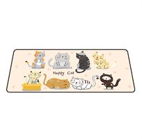 משטח גיימינג לעכבר | משטח עכבר דגם חתולים