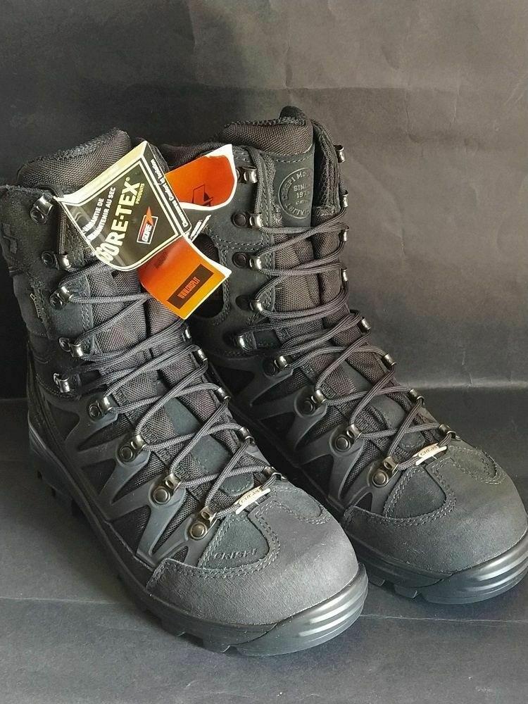 נעליים טקטיות ללוחם  CRISPI APACHE PLUS GTX BLACK