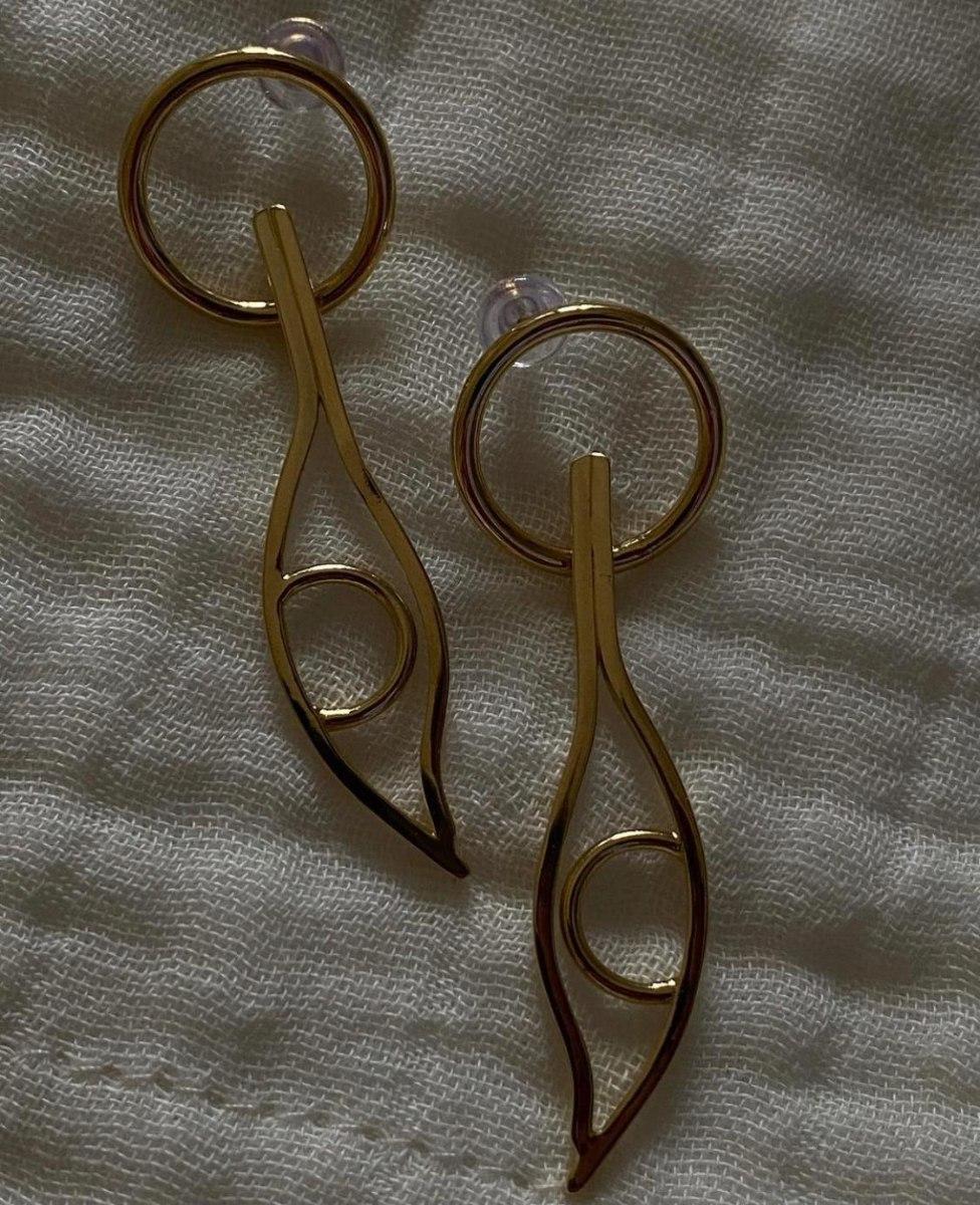 עגילי קליאו זהב