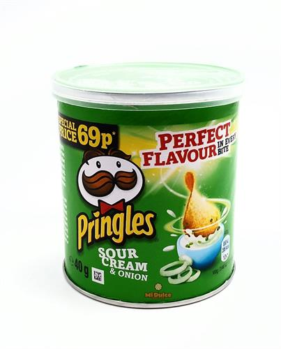 Mini Pringles Cream & Onion