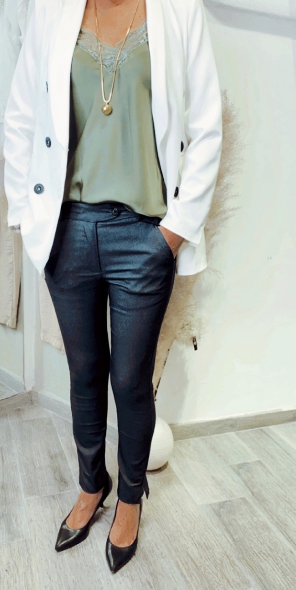 מכנסי ספיר כיס צד