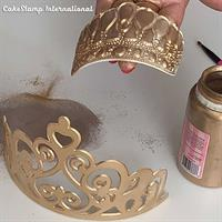 King Henry crown Big Chocolate mold