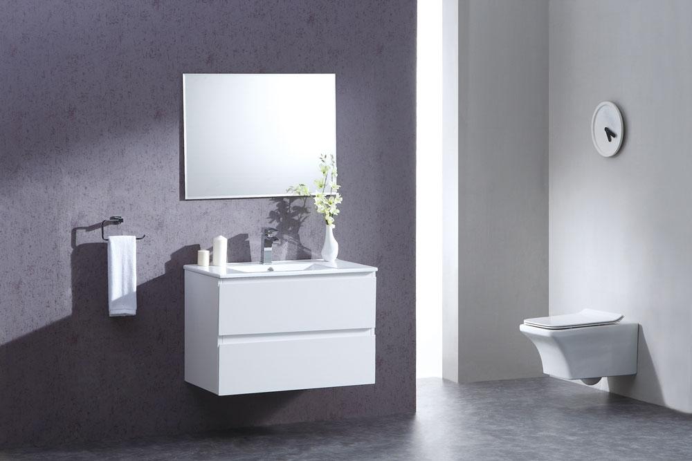 ארון אמבטיה תלוי בעיצוב נקי דגם קיסר KISAR