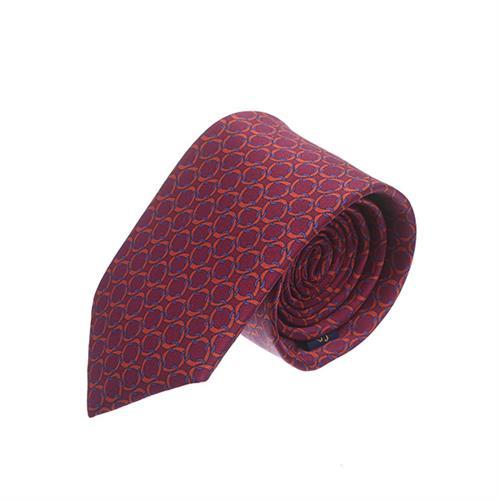 עניבה שרשראות בורדו