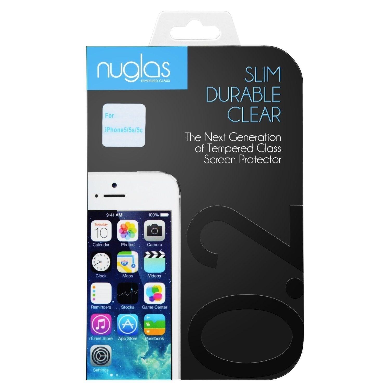 """מגן מסך ל iphone 5 מזכוכית מחוסמת 0.2 מ""""מ הכי דק - jeeper"""